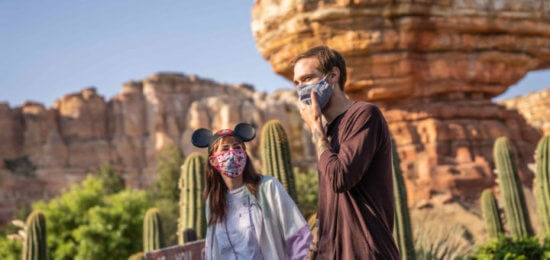 Guests in Face Masks