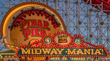 Incredicoaster and Toy Story Midway Mania