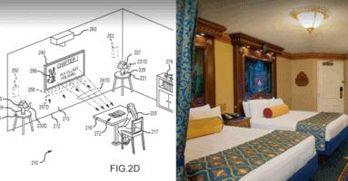 disney patent resort rooms