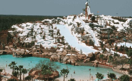 blizzard beach overview shot