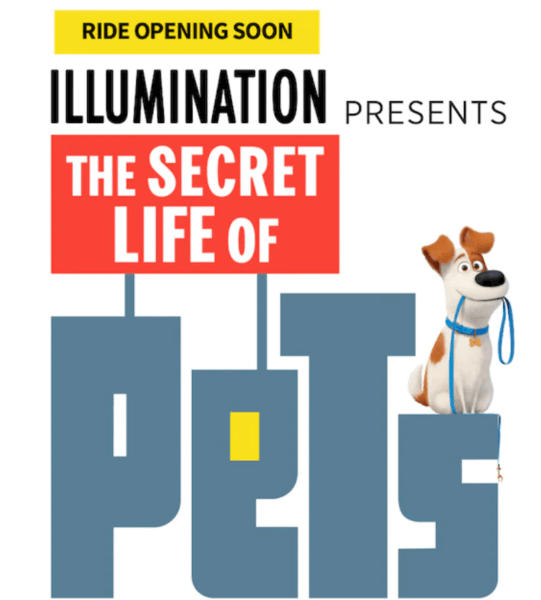 Universal Secret Life of Pets