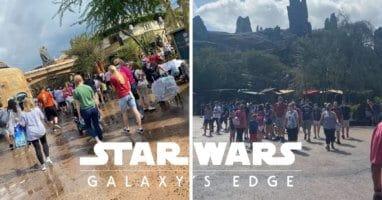 galaxys edge crowds