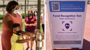 disney world face recognition