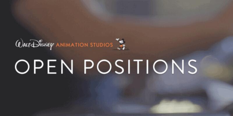 open positions disney animation jobs header