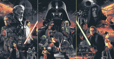 star wars character collage