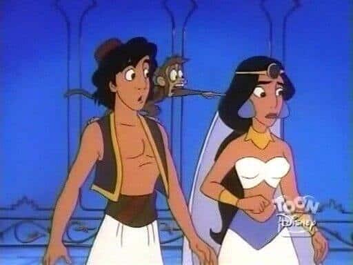 aladdin and jasmine wedding episode series