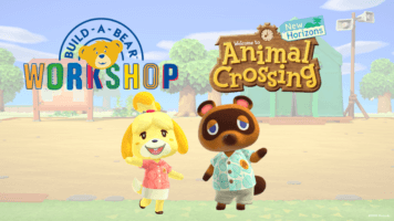 Animal Crossing Build-a-Bear collection