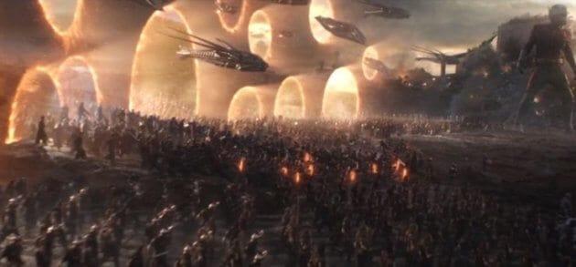 Avengers portals scene