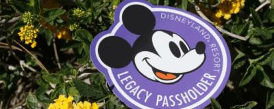 Disneyland Legacy Passholder