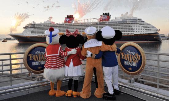 disney fantasy inaugural cruise characters