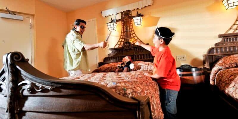 disney hotel room pirate theme