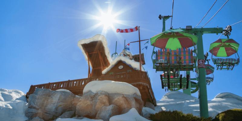 disney world blizzard beach chairlift