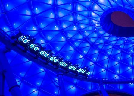 Tron at Shanghai Disneyland
