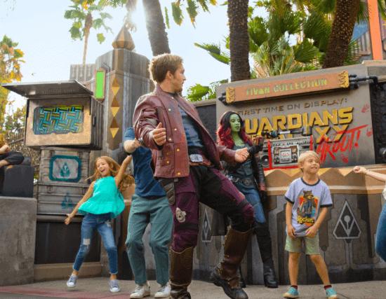 Disneyland Guardians of the Galaxy