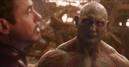 Drax saying Why is Gamora