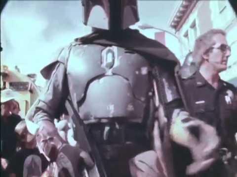 duwayne dunham in boba fett armor in parade