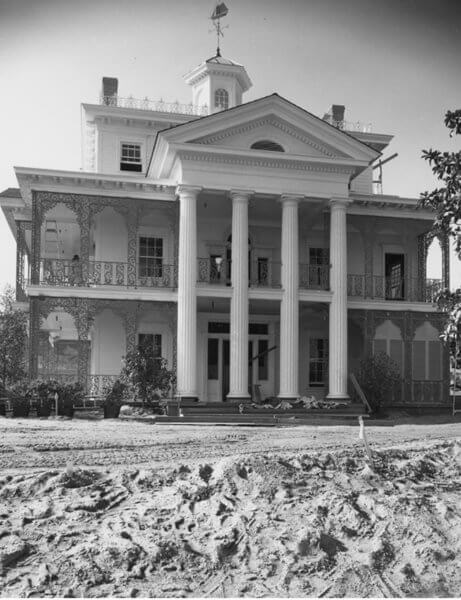 the history of the haunted mansion