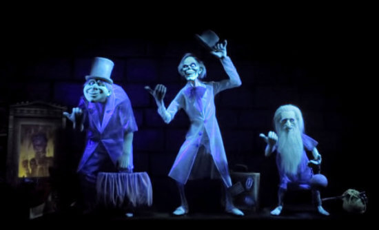 hitchhiking ghosts at the haunted mansion
