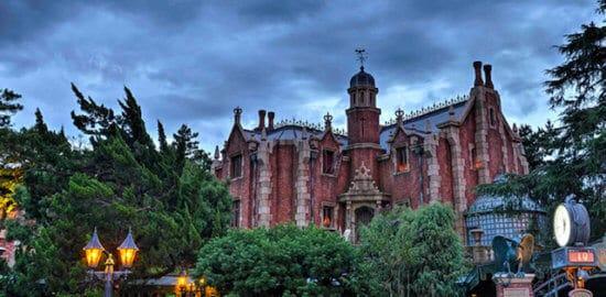 haunted mansion in tokyo disneyland