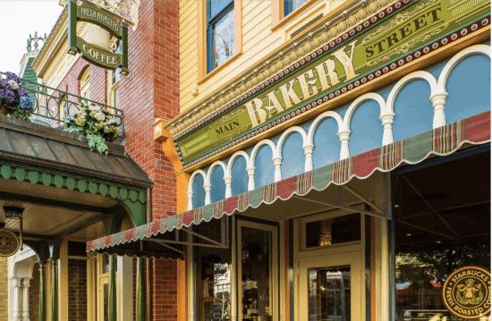 main street bakery at disney world