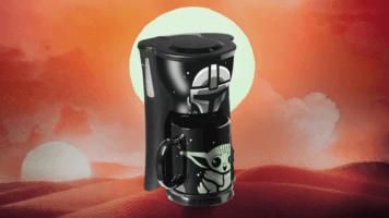 Mandalorian coffee maker