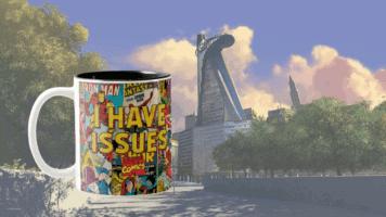 Marvel I have Issues Mug