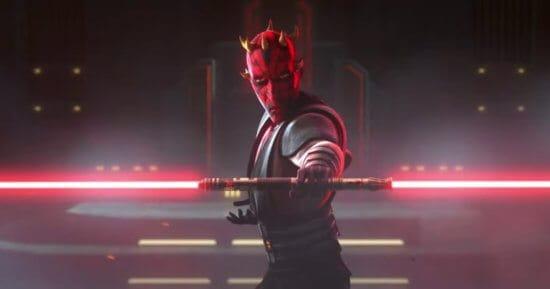 maul holding lightsaber in star wars rebels