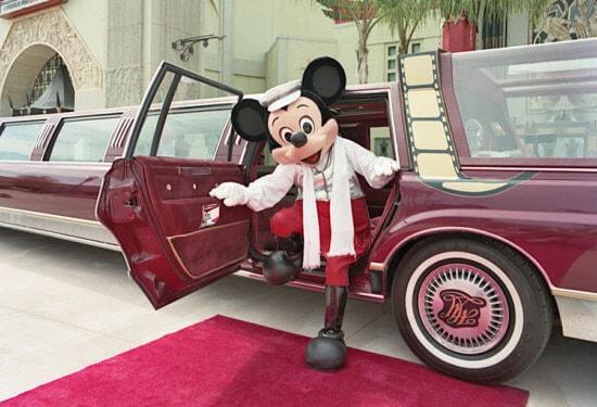 mickey limo car