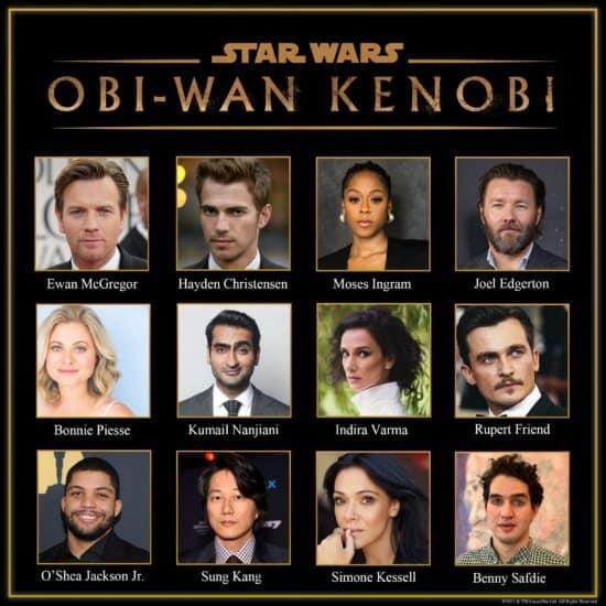obi wan kenobi full casting