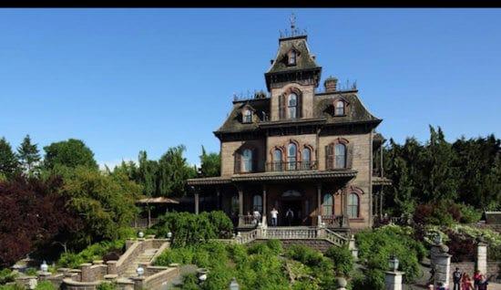 phantom manor at disneyland paris, exterior