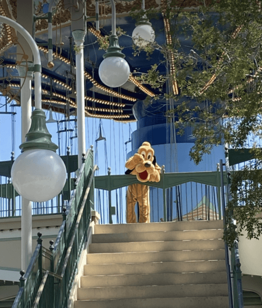 pluto at silly symphony swings