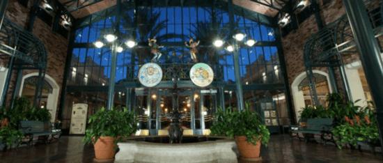 port orleans french quarter lobby