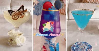disney princess inspired cocktails