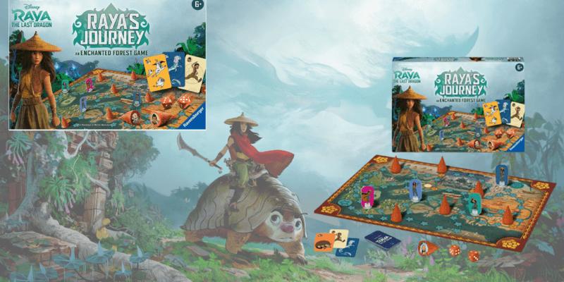 Raya's Journey board game