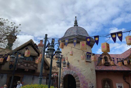 tangled bathrooms at magic kingdom park