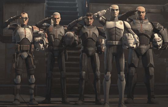 the bad batch clone wars