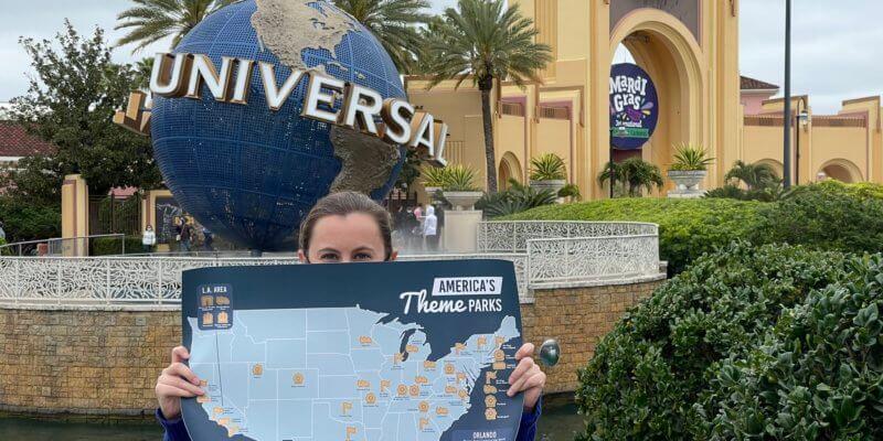 theme park scratch off maps