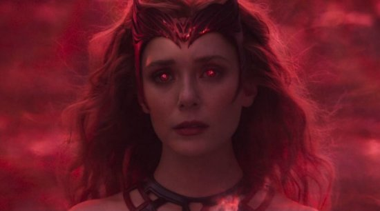 Scarlet Witch in WandaVision's finale
