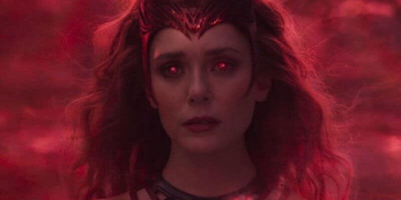 Elizabeth Olsen as Wanda Maximoff aka Scarlet Witch in WandaVision's finale
