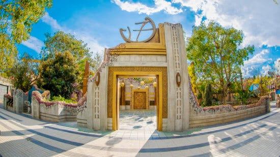 Ancient Sanctum in Avengers Campus at Disney California Adventure Park