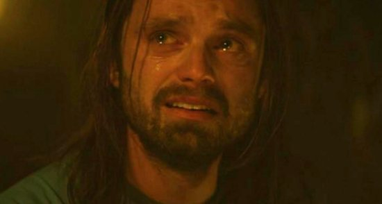 winter soldier crying scene