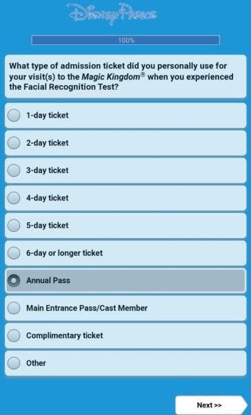 facial recognition survey
