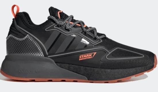 Stark Industries core black adidas sneakers