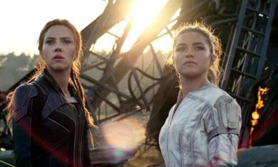 natasha romanoff (left) and yelena belova (right)