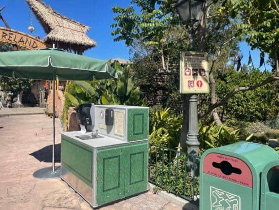 Adventureland hand washing station