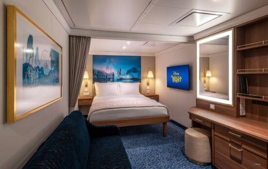 Disney Wish - Staterooms - Inside