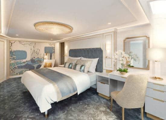 Disney Wish - Staterooms - Princess Aurora Royal Suite 1