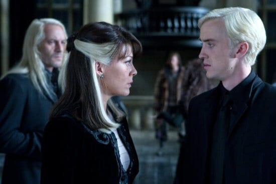 Narcissa and Draco Malfoy