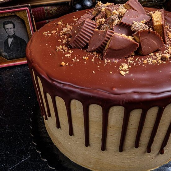 Gideon's Peanut Butter Cake