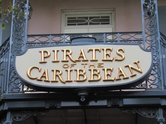 pirates of the caribbean at disney parks